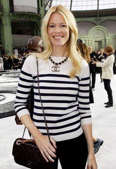 claudia schiffer @ Chanel.style icon virgostyle#