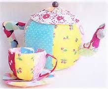 Tea Pot and Tea Cup Children's Toy Sewing Pattern - Ric Rac Pattern ...