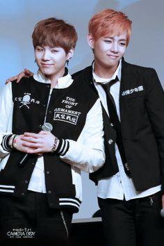 Taehyung and Suga<3