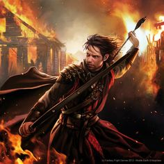Bard the Bowman  Magali Villeneuve Portfolio: The Lord of the Rings