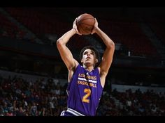 77257b36532 Lonzo Ball On FIRE! Records 2nd Triple-Double (16p, 10r, 12a) of Summer  League (Full Highlights)
