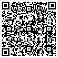 QR/2D-barcode met snelkoppeling naar officiële logistieke dienstverlener van Stichting VersFust, HABÉ middelencentra Nederland