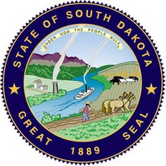 South Dakota's great seal - click to see all state seals