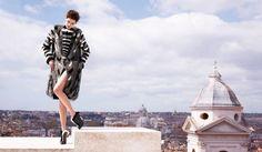 Cara Delevingne & Saskia de Brauw by Karl Lagerfeld for Fendi Campaign FW 2013-2014 8