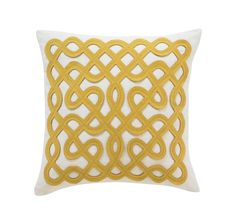 labyrinth pillow - dwell  Cute...wonder if I could make something similar?