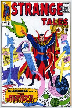 Doctor Stephen Strange (commonly known as Doctor Strange) is a fictional character, a superhero that appears in comic books published by Marvel Comics. The character was co-created by writer-editor Stan Lee and artist Steve Ditko, and first appeared in Strange Tales #110 (July 1963).