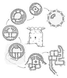Titan's Teeth (with grid)