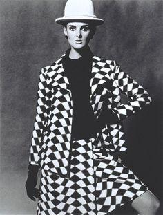 Grace Coddington in Nina Ricci: John French, 1960