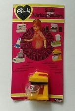 Lovely Rare Sindy Doll Working Wonders Food Mixer MOC 1970'S