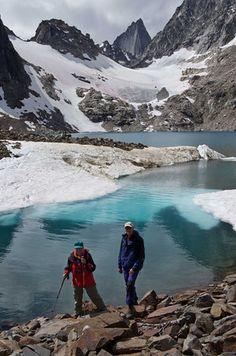 Hiking around Cobalt Lake, Glacier National Park, Montana