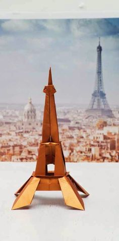 Learn these common #origami terms and be on your way to folding your own #Eiffel Tower from Origami City!