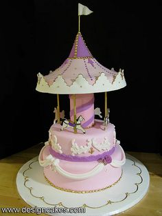 CAROUSEL CAKE- pubblicato in Cucina Chic Cake Design n°20/21 by ...