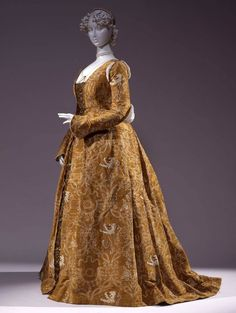 "fripperiesandfobs:  "" Renaissance fancy dress, 1887  From the Galleria del Costume di Palazzo Pitti via Europeana Fashion  """