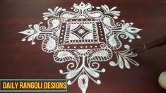 rangoli for beginners Simple Rangoli Designs Images, Colorful Rangoli Designs, Rangoli Designs Diwali, Kolam Rangoli, Beautiful Rangoli Designs, Easy Rangoli, Padi Kolam, Rangoli Borders, Rangoli Border Designs