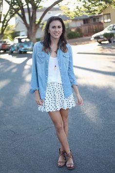 Effortless girly fashion!