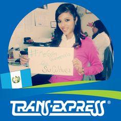 "Colaboradores TransExpress dicen:  ""#MeGustaGuatemala POR SU CULTURA"" Joseline Ramos. Promoción de Negocios"
