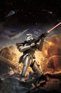 'Star Wars Battlefront' Gameplay Concept Art Reveals More Details For 2015 Release