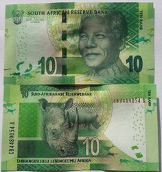SOUTH AFRICA 10 RANDS 2014 P-133-NEW UNC   eBay