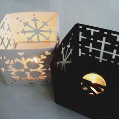 ° cardboard lanterns // modernekohome °