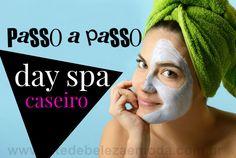 Saiba como preparar um day spa caseiro e fique um dia em casa apenas para se cuidar e relaxar. Aprenda cuidar do cabelo, da pele e de todo corpo.