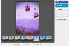 Stunwall ist eine kleine Website, die automatisiert einige Varianten von hochgeladenen Fotos erstellen kann. Sieben unterschiedliche Fotolooks können auf Knopfdruck erstellt werden. Hamster, Desktop Screenshot, Videos, Pictures, Image Editing, Photo Illustration