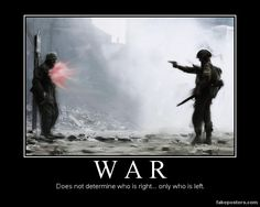 War - Demotivational Poster