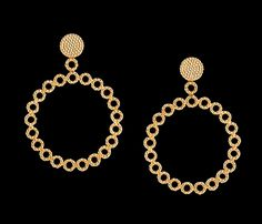 CARLA AMORIM   Circolare Earrings