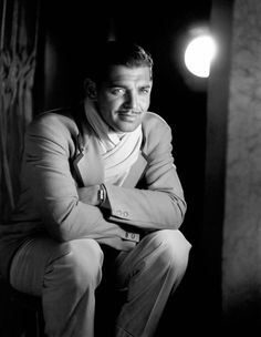Clark Gable, 1931 // by George Hurrell