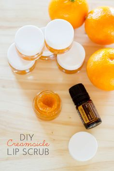 3 tablespoons sugar, 1 tablespoon coconut oil, 1 teaspoon vanilla extract, 2 drops Wild Orange eo  combine sugar with oil. Add in eo and combine well. Transfer to glass lip gloss jar and store for up to six months