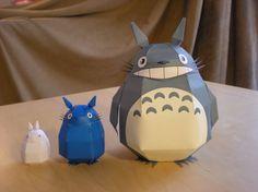 Totoro & co. Free template