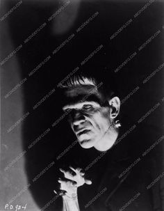 photo Boris Karloff as Frankenstein monster 2730-32