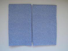 Pair Standard Contential Pillowcases by Marimekko  Sky Blue