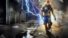 Wallpaper Infamous Cole Electricity Street Walk Download Image Wallpaper