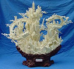 Bone Sculpture Carving Art