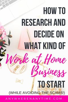 Starting a home-based business is a great way to make money on the side, but how do you even decide what kind of business to start? Work From Home Business, Work From Home Moms, Starting A Business, Make Money From Home, Way To Make Money, Business Tips, Make Money Online, Online Business, Business Products