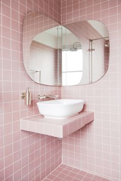 2LG Studio » Our dream pink bathroom design – revealed