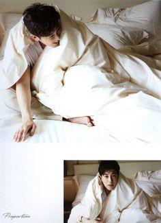 SHILLA写真集ユノver.スキャンお借りしました #ユノ #Yunho #윤호 東方神起ユノ&チャンミンたまらんすきゃねんmayukonoんち partⅢ