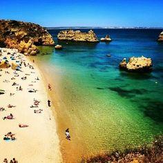 Golden sands, Portugal