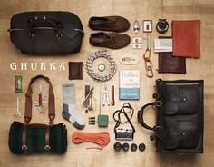In the bag by Thomas LaGrange  Ghurka.com   #wellappointedexplorer #styleandcraftsmanship #curious #wanderlust  #TheExploratrice