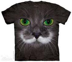 Big Face Hamilton the Hipster Cat T-Shirt