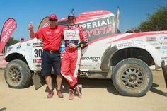 Toyota Imperial Sa Dakar Team Segundo Lugar
