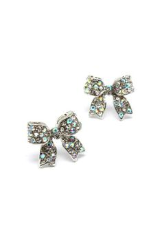 Sparkly little bows.