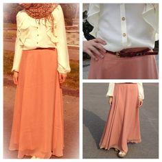 Hijab style fashion skirt hijabista fashionists maxi