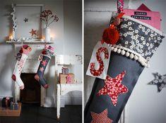 Sania pell shows us how to create your own #LibertyPrint Christmas Stocking on the Liberty Blog #SewLiberty