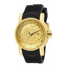 a4c3a57e289 Mens S1 Rally Automatic 3 Hand Dial Watch - Gold