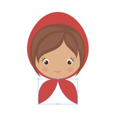 How to Draw Little Red Riding Hood with Basic Shapes in Adobe Illustrator - Tuts+ Design & Illustration Tutorial