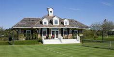 Tennis pavilion at the Field Club in Edgartown, Mass by (who else?) Patrick Ahearn.
