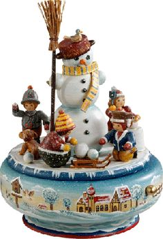 """The Snowman"" Music Box"