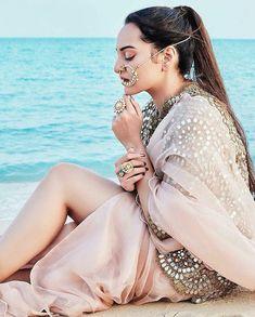 Sonakshi Sinha Poses for Khush Wedding Magazine Sonakshi Sinha, Indian Celebrities, Bollywood Celebrities, Bollywood Actress, Bollywood Stars, Bollywood Fashion, Jessica Parker, Indian Designer Wear, Indian Girls