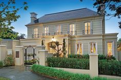 French Provincial Home - Kew #FrenchProvincial #Architecture #Design #Exterior #Glamour #Luxury